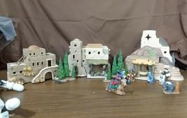 Dept 56 1987 HOLY LAND LITTLE TOWN OF BETHLEHEM Nativity 12 Piece Set #5... - $89.95