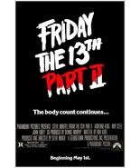 Friday The 13th Part II Reproduction Stand-Up Display - Jason Horror Mov... - $15.99