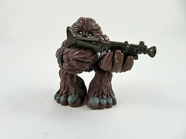 """Playskool Star Wars Galactic Heroes Wookie Warrior Action Figure 2009 LFL 2.5"""" - $9.89"""