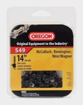 """OREGON 14"""" S49 Chainsaw Replacement Saw Chain McCulloch Remington Olympyk Wen - $18.51"""