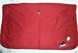 Vintage Gymboree Baby Girl Boy Red Sled Ski Sledding Penguin 2001 Blanke... - $98.99