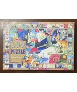 """Eboo 100 Large Piece Puzzle """"Natural Science"""" by Melissa Sweet 18"""" x 27"""" - $18.32"""