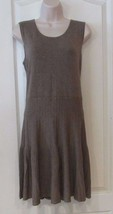 Apt. 9® A-Line Sleeveless Knit Dress MD WHEAT Women's Sz L NWT MSRP$50 V... - $27.39