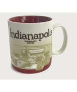 Starbucks Coffee Indianapolis Mug 2012 Global Icon Collector Series Racecar - $32.69