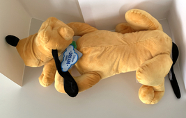 Disney Parks Dream Friends Sleeping Pluto the Dog 18 inch Plush Doll NEW image 2