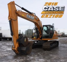 2015 CASE CX210D For Sale in Regina, Saskatchewan S4N 5W4 image 1