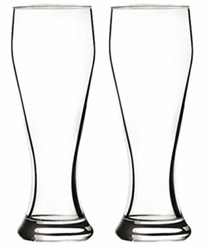 Pasabache Weizen Weizenbeer Beer Cups Mugs Tulip Glasses Glassware Set 500ml 16.