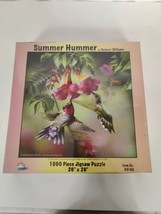 """SUMMER HUMMER Sunsout 1000 Piece Jigsaw Puzzle 26"""" x 26"""" by Spencer Williams - $13.95"""