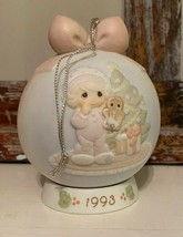 Vintage Precious Moments 1993 ornament w/stand Christmas - $14.85