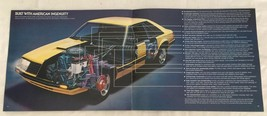 1979 Ford Mustang Dealer Sales Brochure Car Auto Advertising - $11.88