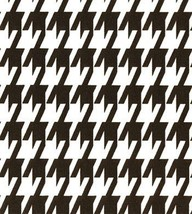 """HOUNDSTOOTH TABLE SQUARES - Centerpiece -Black and white, 20"""" - 22"""" Tabl... - $9.50"""