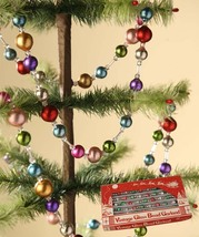 Bethany Lowe Designs Multi Color Jewel Toned Garland