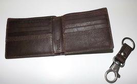 Fossil HERREN Leder Kyle Rfid Geschützt Bi-Faltbar Portemonnaie mit Valet image 4