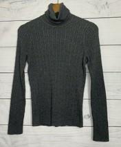 Talbots Women's Gray Heather Turtleneck Sweater Size S - $25.95