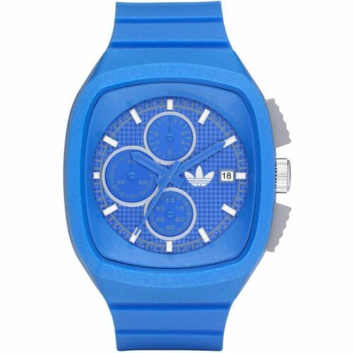 Primary image for Mens Adidas ADH2112 Toronto Candy Strap Blue Dial Unisex Chronograph Watch