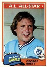 1981 Topps George Brett #700 - $5.00