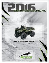 2016 Arctic Cat Alterra 400 ATV Service Manual CD - $12.00