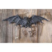 Medium: Count Dracula Vampire Bat Gothic Halloween Decor Wall Sculpt Key... - £24.66 GBP