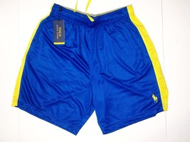 Polo Ralph Lauren shorts men's performance athletic side pipe striped - $38.50
