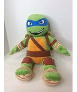 Build A Bear Leonardo TMNT Teenage Mutant Ninja Turtle 18in Plush Stuffe... - $23.75