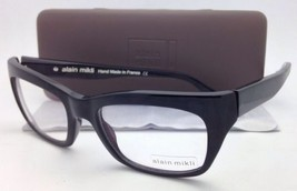 New ALAIN MIKLI Eyeglasses A03026 1026 53-16 145 Black Frame w/ Clear Lenses