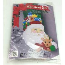 Designs For The Needle Santa Christmas Stocking 9909  - $29.69