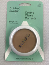 Almay Clear Complexion Pressed Powder, Light/Medium, 200, Hypoallergenic 0.28 oz - $9.47