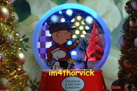 Hallmark 2012 Peanuts Christmas Is The Time To Believe Features Light La... - $49.99