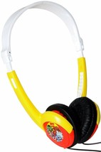 iHip MVFFH1RTO Marvel Retro Folding Headphones, Red/Yellow NEW - £8.06 GBP