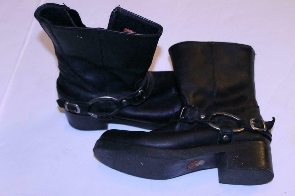 Primary image for Harley Davidson Sz 9 Black Boots