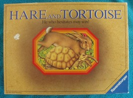 Hare and Tortoise  Board Game Vintage 1985 Ravensburger  Ages 8 -99 HTF - $118.75