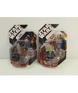 Star Wars 30th Anniversary Action Figure #51 R2-B1 #19 Jawa & Lin Droid ... - $19.34