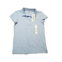 Cat & Jack NWT Girls School Uniform Polo Shirt ~ Sz L (10/12) ~ Light Blue - $6.92