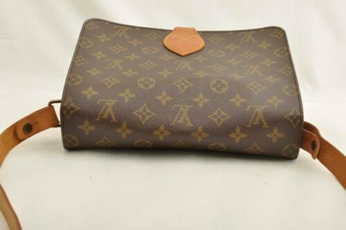 LOUIS VUITTON Monogram Cartouchiere GM Shoulder Bag M51252 LV Auth ar1643 image 6