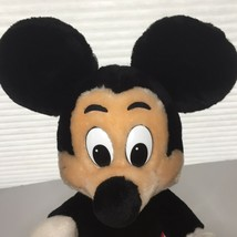 Vintage Mickey Mouse Plush Walt Disney Productions Disneyland Parks Korea 10 in. - $25.22