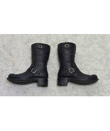 Terminator 2 T-800 Black Boots DX10 1/6th Scale Accessory - Hot Toys 2012 - $27.08