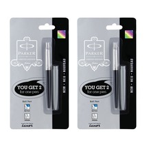 Parker Jotter Limited Edition CT BallPen Ball point pen Black Body + Gre... - $14.84