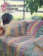 Cotton Candy Clouds Afghan Annie's Crochet PATTERN/INSTRUCTIONS/NEW - $6.27