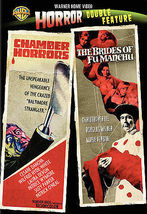 Chamber Of Horrors & Brides Of Fu Manchu DVD Double Feature ( Ex Cond.) - $9.80