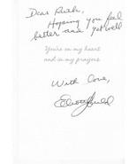 """ELLIOTT GOULD AUTOGRAPHED HAND WRITTEN GET WELL CARD """"RARE"""" ACTOR - $6.78"""