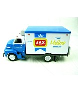 VINTAGE RARE JAX BEER 1953 FORD C-600 STRAIGHT DELIVERY TRUCK 1/34 DIECAST - $61.38