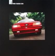 1991 Ford TAURUS SHO sales brochure catalog US 91 - $9.00