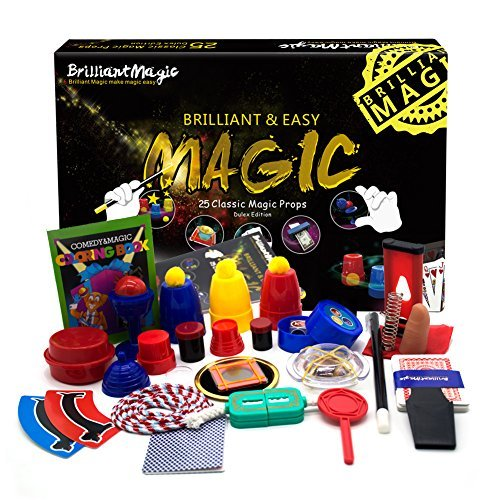 BrilliantMagic Magic Set Magic Kit for Kids Science Toys for Children Including