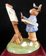 "Royal Doulton Bunnykins Figurine - ""Budding Artist"" DB501 - $90.24"