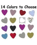 """Confetti Heart 1/4"""" - 14 Colors to Choose 14 gms tabletop confetti bag F... - $3.95+"""