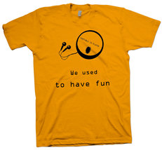 Nerdy T-Shirt  CD Player ,  90's  Funny  Cute Science Geek  Nerd Tee - $23.99