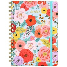 "2020 Planner - Weekly & Monthly Planner with Tabs, 6.3"" x 8.4"", Hardcove... - $14.16"