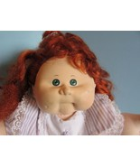 """Cabbage Patch Kids 16"""", Xavier Roberts Talking Interactive baby doll red... - $44.55"""