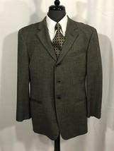 Armani Collezioni Men's Brown Wool Blazer Jacket Sport Coat 40R - $75.00