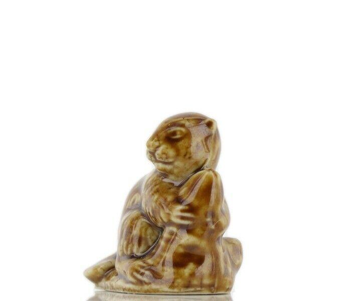Wade Whimsies Porcelain Miniature American Beaver